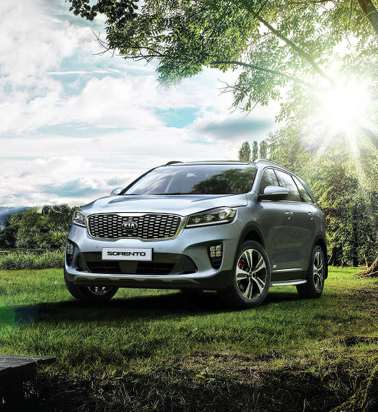 Kia New Sorento exterior Outdoors Wild Nature